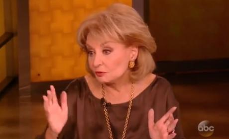 Barbara Walters Defends Woody Allen, Tempers Flare on The View