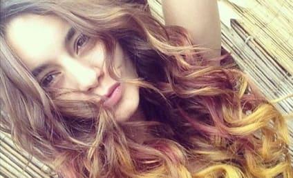 Vanessa Hudgens Falls Into New Hair Color