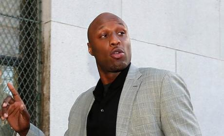 Lamar Odom in Anger Management?