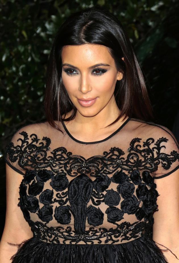 Kim Kardashian Pregnant Image