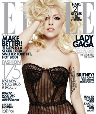Lady Gaga Elle Cover