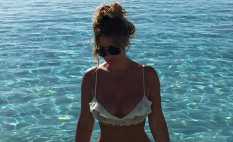 Kim Zolciak Celebrates 38th Birthday With Bikini Pic