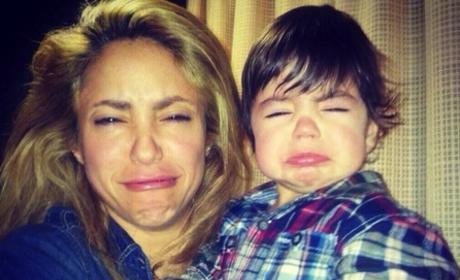 Shakira on Christmas