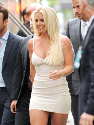 Britney Spears, Hot Dress