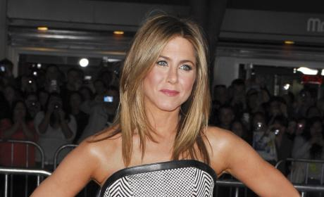 Is Jennifer Aniston really happy for Brangelina?