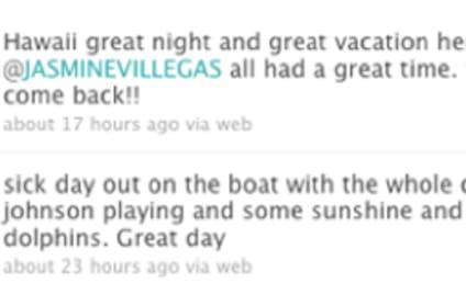 Spotted in Hawaii, in Bathing Suits: Justin Bieber & Jasmine Villegas