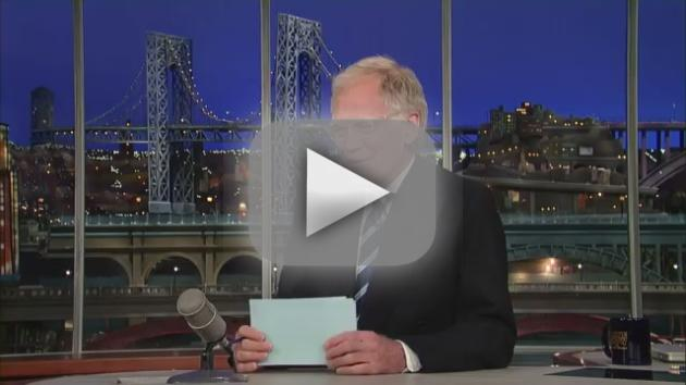 David Letterman Reacts to Tonight Show Shake-Up