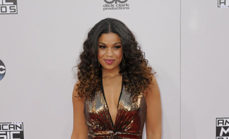Jordin Sparks at the American Music Awards