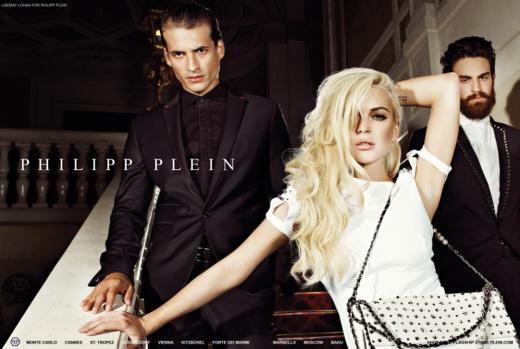 Lindsay Lohan Philipp Plein Ad