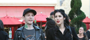 Kat Von D and Deadmau5 Photo