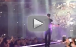 Adam Levine Hits Fan With Mic