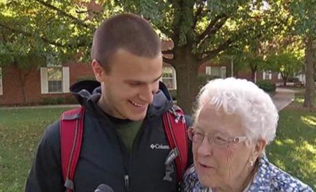 82-Year-Old Enrolls in College After Husband Dies, Gets Crowned Homecoming Queen