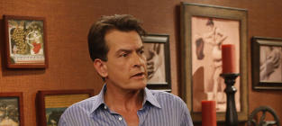 Charlie Sheen in Character