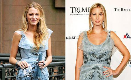 Who wore it better, Blake or Ivanka?