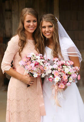 Jana Duggar and Michaela Bates