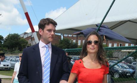Pippa Middleton and Alex Loudon: Spotted at Wimbledon!