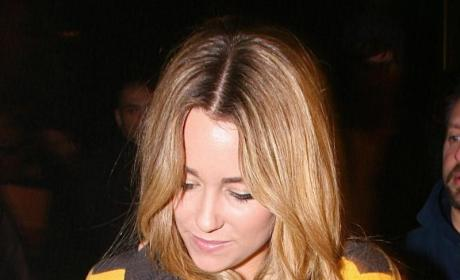 Lauren Conrad, Chris Richardson Flirt Hard at Les Deux