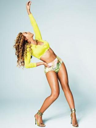 Beyonce in Shape