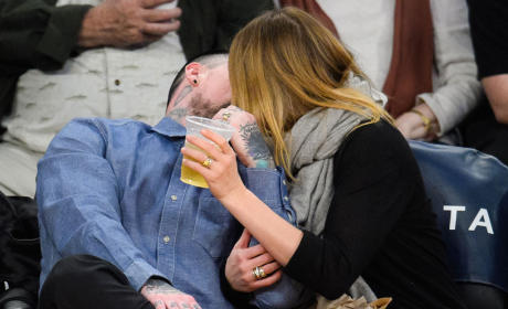 Cameron Diaz and Benji Madden Kiss Cam Alert!