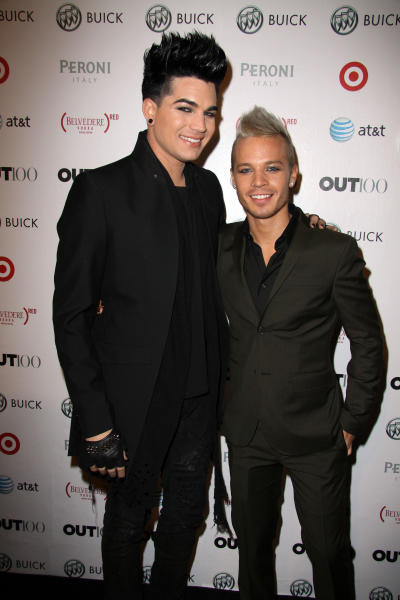 Sauli Koskinen with Adam Lambert