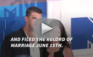 Michael Phelps: Married to Nicole Johnson!