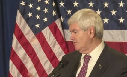 "Newt Gingrich Calls Barack Obama the ""Food Stamp President"""