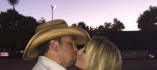 Brittany Kerr, Jason Aldean Instagram