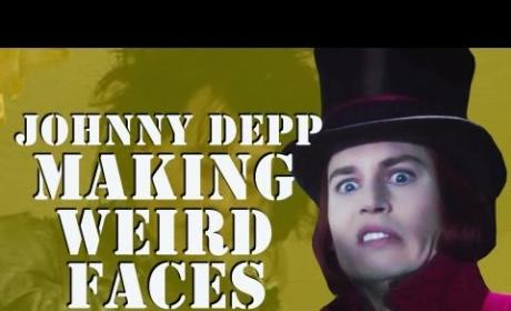 Johnny Depp's Face: A Delight Even When Odd