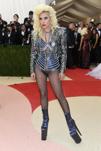 Lady Gaga: 2016 Costume Institute Gala