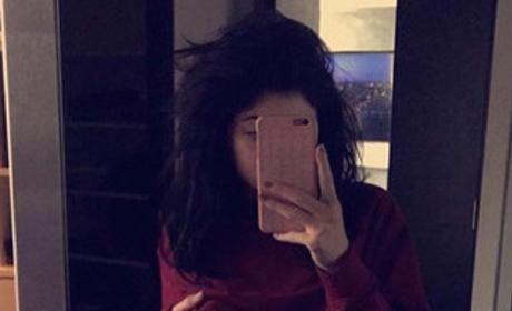 Kylie Jenner Tummy Photo