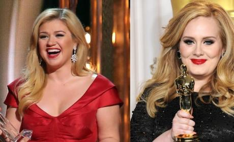 Adele to Kelly Clarkson: Don't Have A Baby!