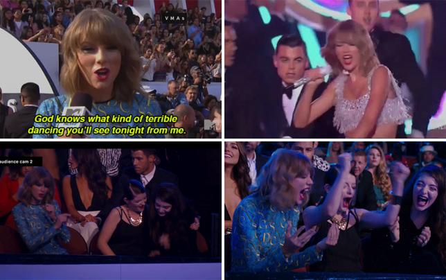 Taylor swift bad dancing alert