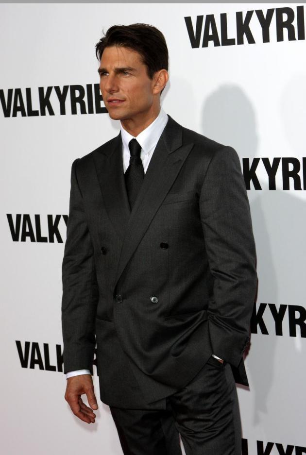 Tom Cruise at Valkyrie Premiere