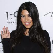 Kourtney Kardashian Waving