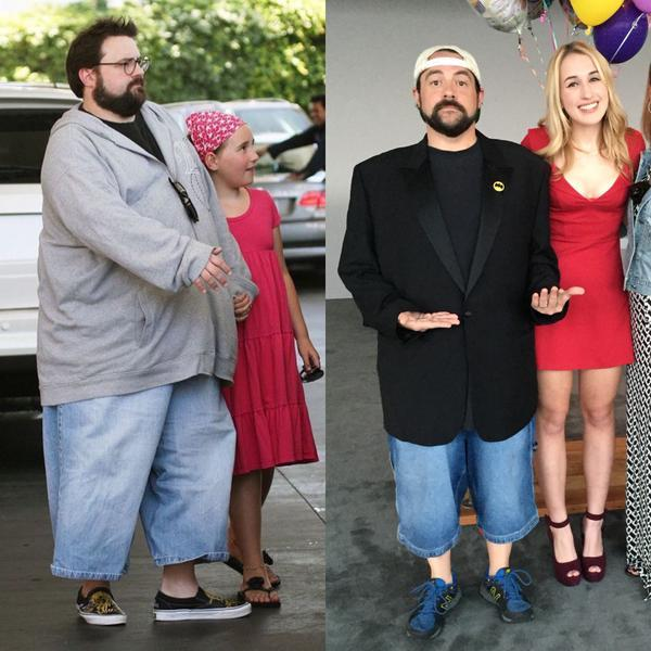 Kevin Smith Weight Loss Photo