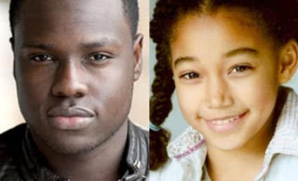The Hunger Games Casts Dayo Okeniyi, Amandla Stenberg