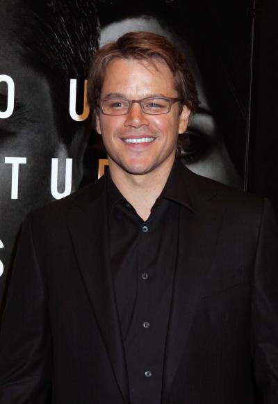Matt Damon Photograph