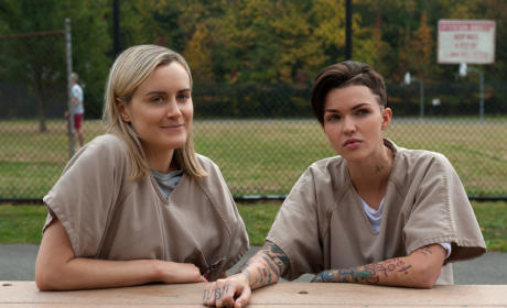Ruby Rose on Orange is the New Black