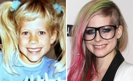 Avril Lavigne as a Kid