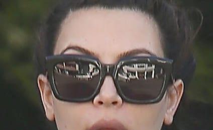 "Kim Kardashian Komplains About Near Kar Krash, Danger of ""Legalized Stalking"""