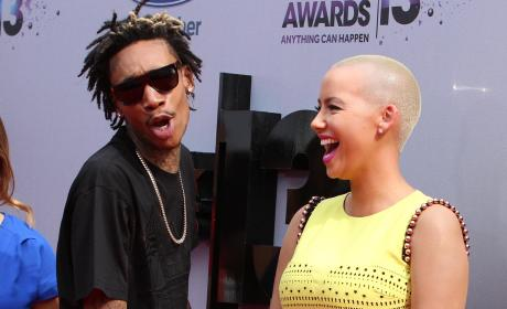 Amber Rose and Wiz Khalifa: Married!
