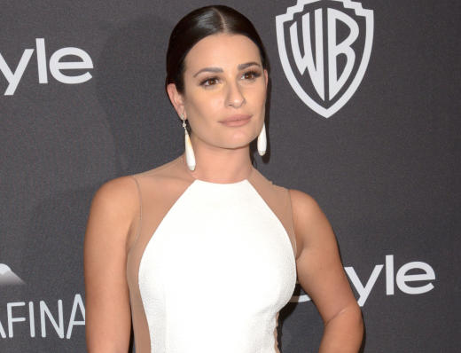 Lea Michele Red Carpet Picture