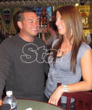 Jon Gosselin and Ellen Ross