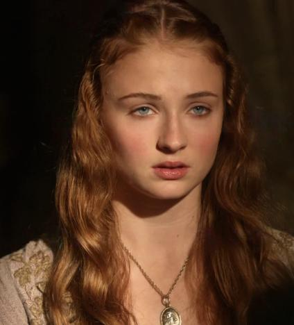 Sophie Turner on Game of Thrones