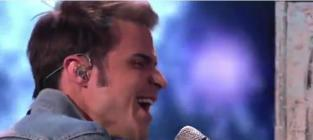 Kris Allen Debuts New Song on American Idol Results Show
