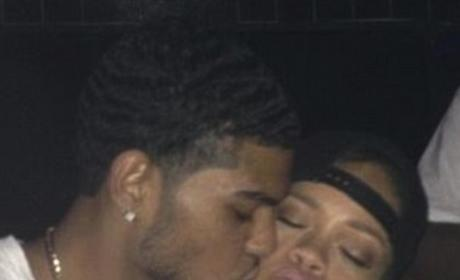 Rihanna Fan Kiss Photos: Is She Just TRYING to Rile Up Chris Brown?
