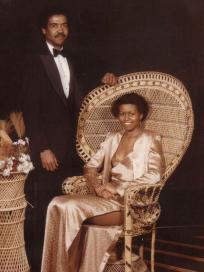 Michelle Obama Prom Photo