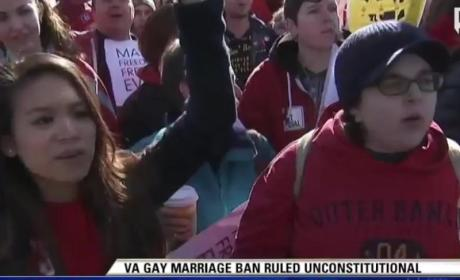Virginia Same-Sex Marriage Ban Struck Down