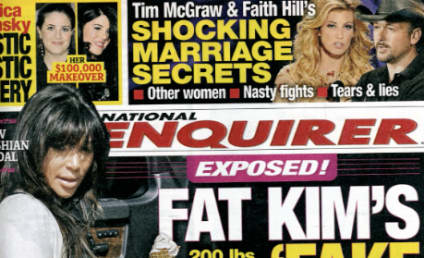 Tabloid Klaim: Kim Kardashian Faking Pregnancy for Major Payday!
