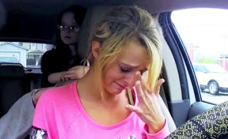 Leah Messer Breaking Down